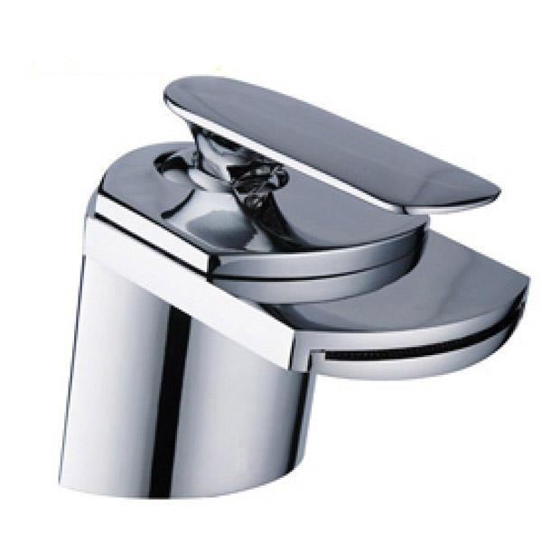 Llave de agua grifo monomando estilo cascada para ba o for Grifo de cascada