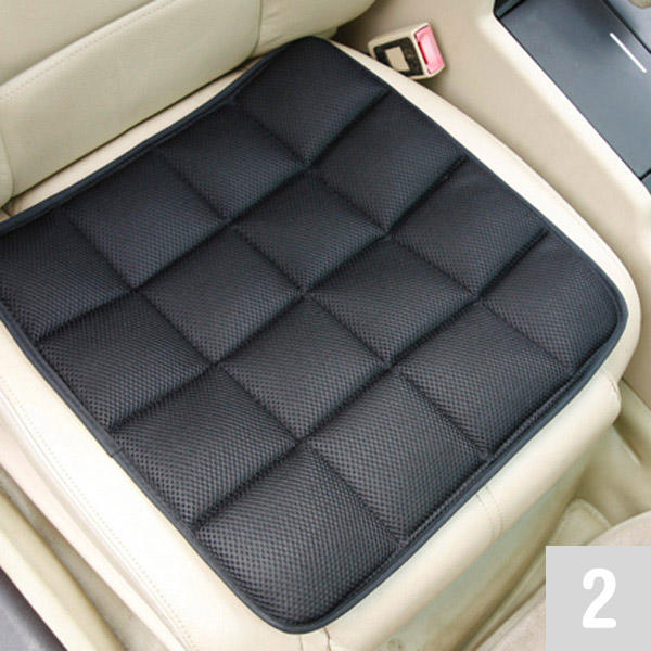 Car Seat Cover Cushion for Vehicles Office Home with Bamboo Padding