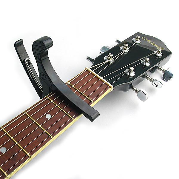 Quick Release Guitar Capo for Acoustic and Electric One Hand Removal