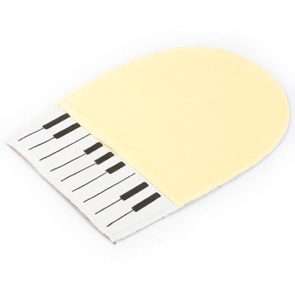 Piano Cleaning Cloth Mitt Double Sided Soft - Felt and Cotton