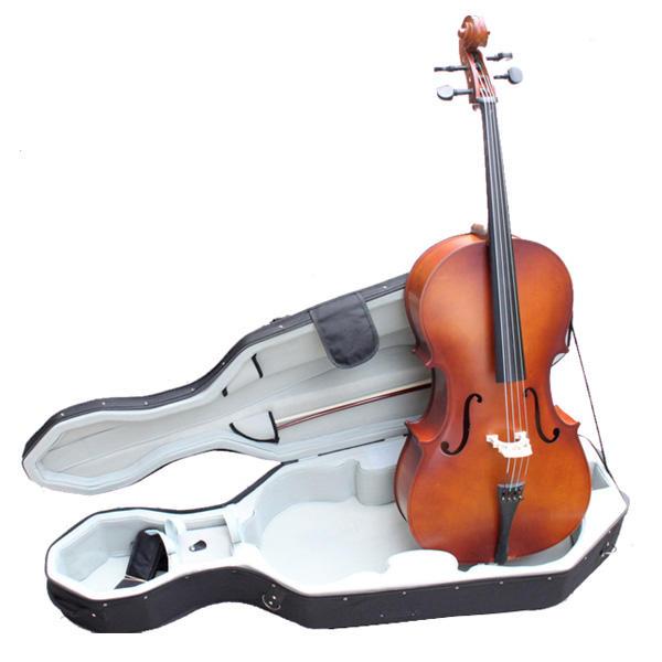 Violoncelle de 3/4 Classique Set avec Archet Etui Accessoroires